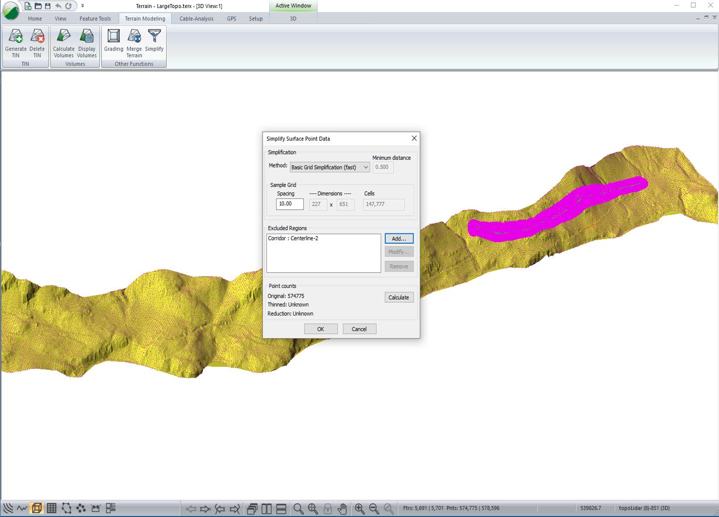 work with big lidar data sets import filter create dtms