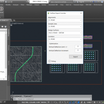 Softree Optimal for Civil 3D